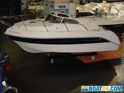 Motorboat Italmar Cabin 18 for hire
