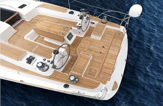 Sailboat Elan 514 Impression