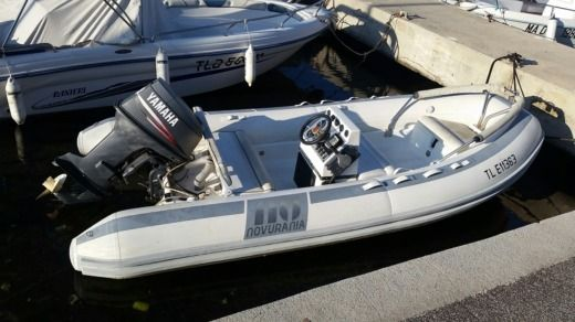 RIB Novurania 430 for hire