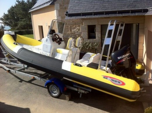 RIB SEARIBS 580 Open for hire