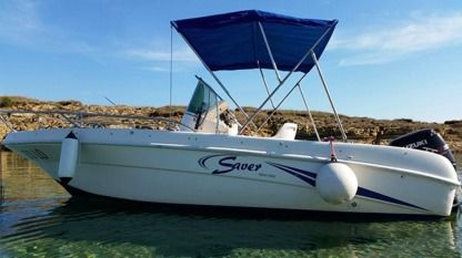 Rental Motorboat Saver 580 Lopar