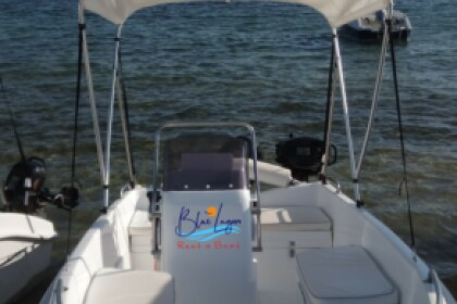Rental Motorboat BLUELAGOON 45 Vourvourou