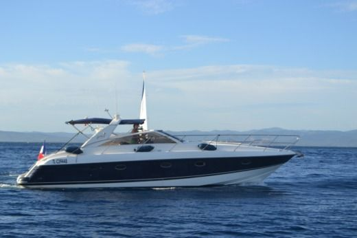 Princess V42 in Hyères for hire