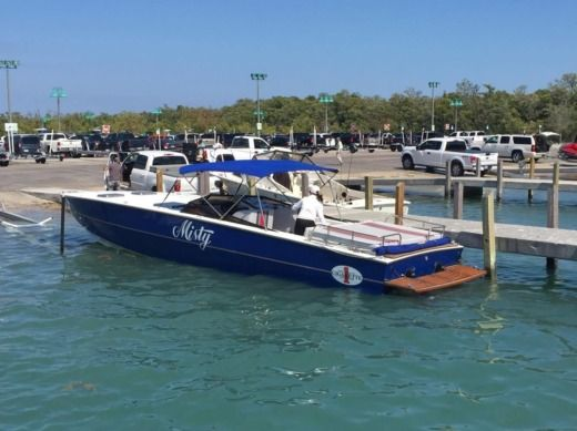 Rental Motorboat Cigarette Racing Miami