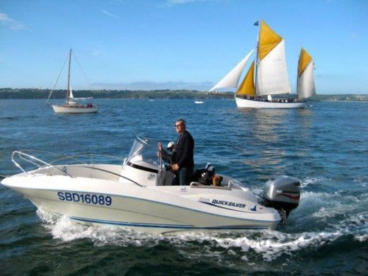 Quicksilver Open 555 in Paimpol zu vermieten