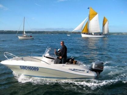 Rental Motorboat Quicksilver Open 555 Paimpol