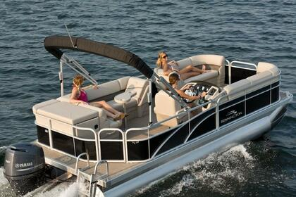 Rental Motorboat Bennington Pontoon Sunny Isles Beach