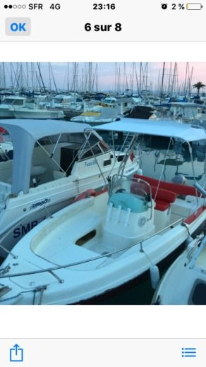 Motorboat Marinello Fisherman 16 for hire