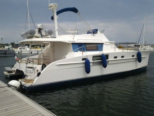 Location Catamaran Fountaine Pajot Cumberland 44 Ajaccio