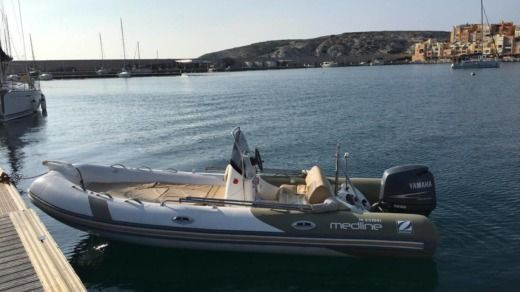Zodiac Medline Neo 550 in Marseille for hire