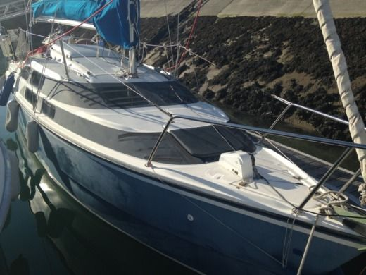 Sailboat Mac Gregor 26M for hire