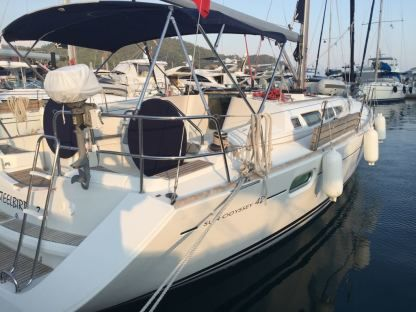Rental Sailboat Jeanneau So 42I Mugla