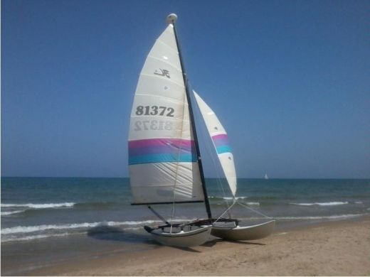 Catamaran Hobie Cat Hobie Cat 16 peer-to-peer