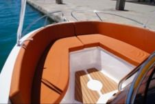 Motorboat Okiboats Barracuda 545 for rental