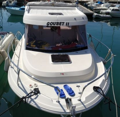 Charter Motorboat Pacific Craft 660 Timonier Menton