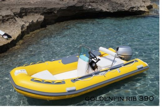RIB GOLDENFIN-GLASSBOAT GLASSBOAT for hire