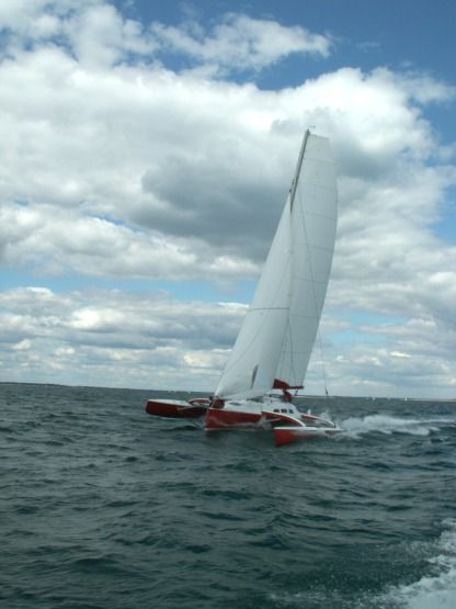 Location Catamaran Farrier F9 Arzon