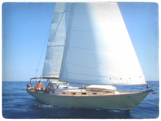 Charter Sailboat Cheoy Lee Offshore 47 Grimaud