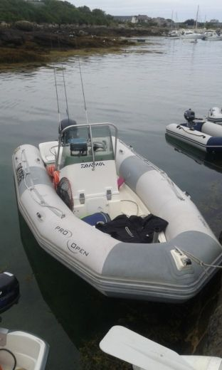 Zodiac Pro Open 550 in Ouistreham for hire