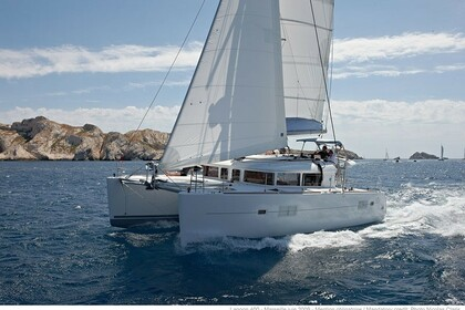 Location Catamaran Lagoon Lagoon 400 S2 Le Marin