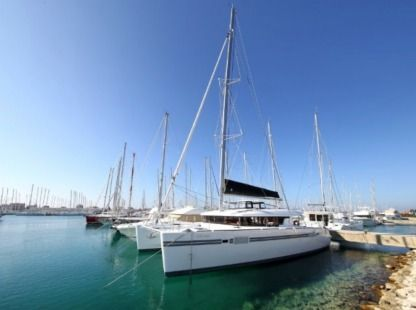 Location Catamaran Lagoon 450 Santa Maria