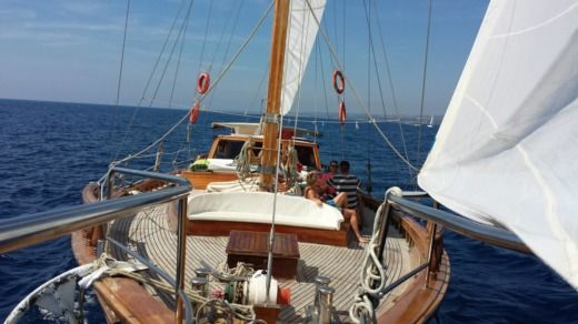 Chantier Coban Ketch 24 M Bois in Marseille for hire