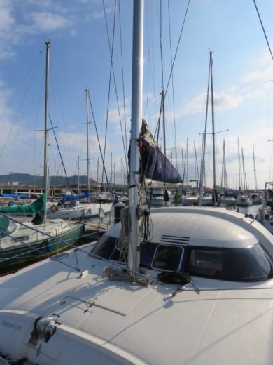 Catamaran Fontaine Pajot Xantigua 37 for hire
