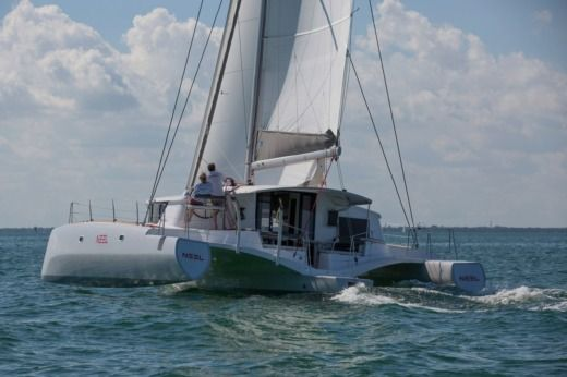 Trimaran Neel 45 in Arrondissement of Le Marin for hire