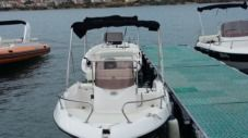 Motorboat Fisher 17 for hire