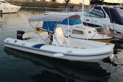 Location Semi-rigide Tiger Marine Pro Line 620 Split