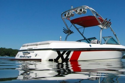 Hire Motorboat Mastercraft X1 New Buffalo