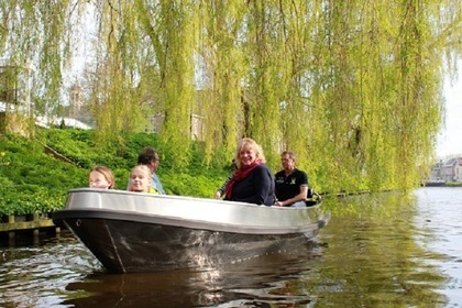 Miete Motorboot Greensilver 500 Elektrosloep Sneek