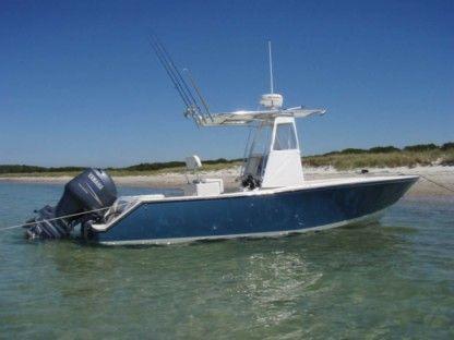 Rental Motorboat Blazer Bay 25 Galveston