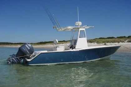 Miete Motorboot Blazer Bay 25 Galveston