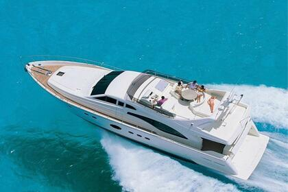 Charter Motorboat Ferreti 68 Fly Bridge Athens