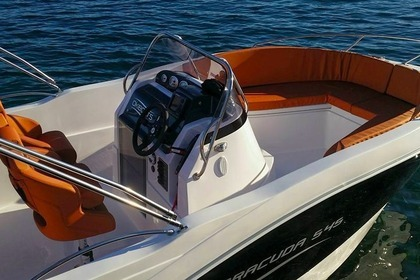 Hire Motorboat BARRACUDA 545 Rab