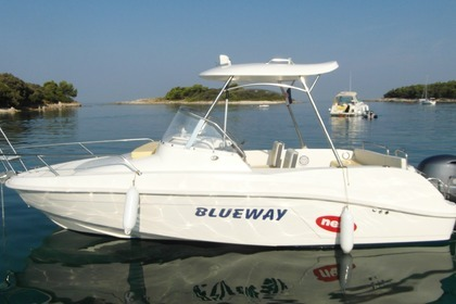 Hire Motorboat BLUEWAY 20 CC Pula