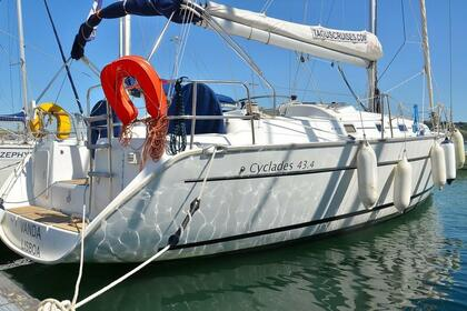 Hire Sailboat Beneteau Cyclades 43.4 Lisbon