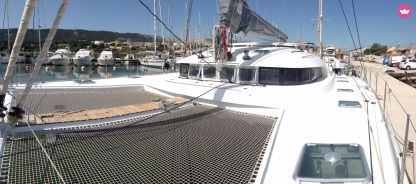 Location Catamaran Lagoon Lagoon 570 Ajaccio