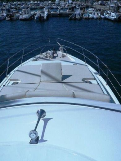Motorboat Princess 38 for hire