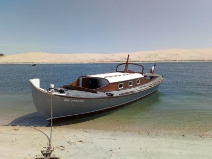 Charter Motorboat Pinasse Traditionelle Arcachon