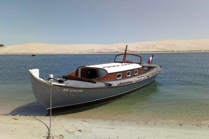 Hire Motorboat Pinasse Traditionelle Arcachon