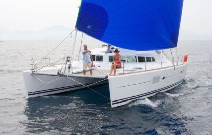 Location Catamaran Lagoon Lagoon 410 Lorient