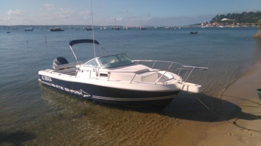 Motorboat Kelt White Shark 236 for hire