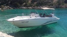 Jeanneau Cap Camarat 7.5 Cc in Split for rental