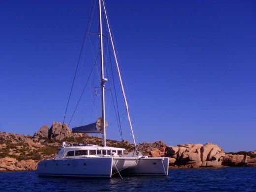 Location Catamaran Lagoon 500 Ajaccio
