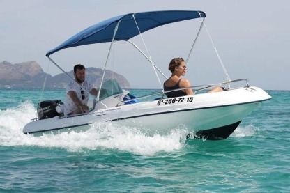 Rental Motorboat Rigiflex Cap 400 Can Picafort