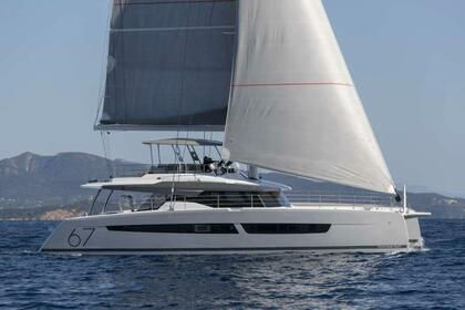 Hire Sailing yacht Fountaine-Pajot Alegria 67 Athens