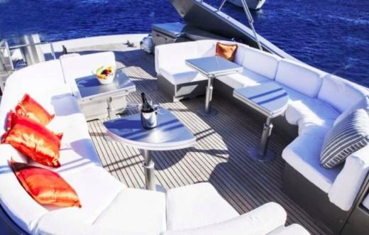 Motorboat Posillipo Technema 80 Flybridge