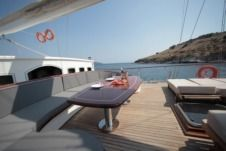 Charter houseboat in Bodrum